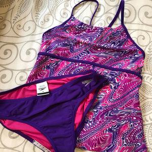 Speedo tankini swimsuit - girls size 16